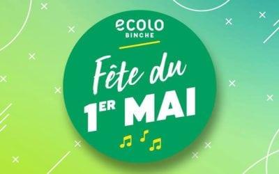 Ecolo Binche fête le 1er Mai
